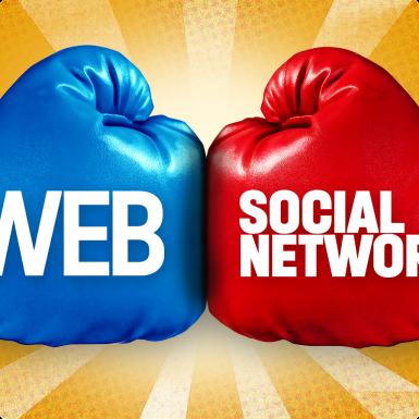 Что лучше для эффективного развития бизнеса — сайт или социальные сети?